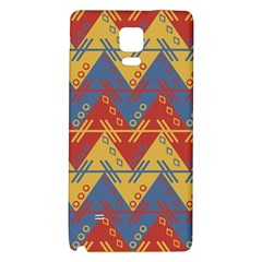 Aztec South American Pattern Zig Zag Galaxy Note 4 Back Case