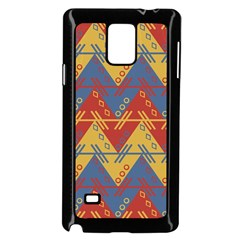 Aztec South American Pattern Zig Zag Samsung Galaxy Note 4 Case (black)
