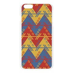 Aztec South American Pattern Zig Zag Apple Seamless iPhone 6 Plus/6S Plus Case (Transparent)