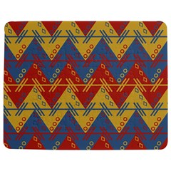 Aztec South American Pattern Zig Zag Jigsaw Puzzle Photo Stand (Rectangular)
