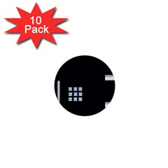 Safe Vault Strong Box Lock Safety 1  Mini Buttons (10 pack)