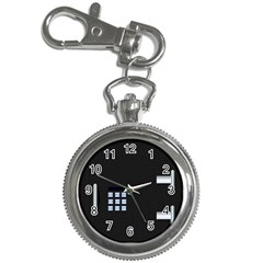 Safe Vault Strong Box Lock Safety Key Chain Watches