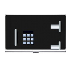 Safe Vault Strong Box Lock Safety Business Card Holders