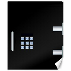 Safe Vault Strong Box Lock Safety Canvas 16  X 20