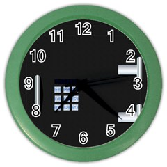 Safe Vault Strong Box Lock Safety Color Wall Clocks