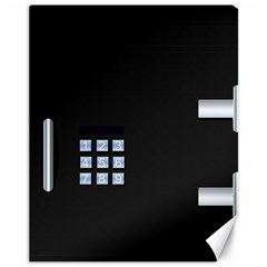 Safe Vault Strong Box Lock Safety Canvas 11  x 14