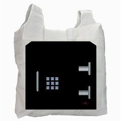 Safe Vault Strong Box Lock Safety Recycle Bag (Two Side)