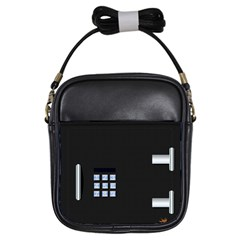 Safe Vault Strong Box Lock Safety Girls Sling Bags