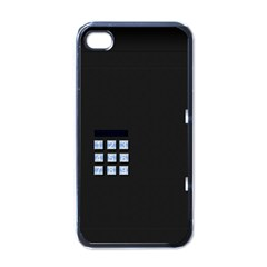 Safe Vault Strong Box Lock Safety Apple Iphone 4 Case (black)