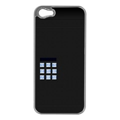 Safe Vault Strong Box Lock Safety Apple iPhone 5 Case (Silver)