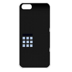 Safe Vault Strong Box Lock Safety Apple Iphone 5 Seamless Case (white)