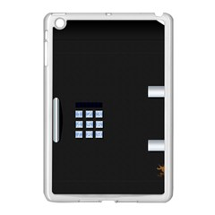 Safe Vault Strong Box Lock Safety Apple iPad Mini Case (White)