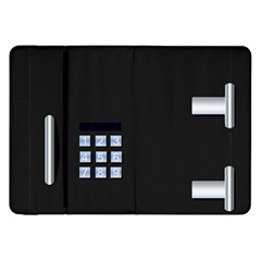 Safe Vault Strong Box Lock Safety Samsung Galaxy Tab 8 9  P7300 Flip Case