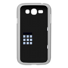 Safe Vault Strong Box Lock Safety Samsung Galaxy Grand Duos I9082 Case (white)