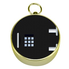 Safe Vault Strong Box Lock Safety Gold Compasses