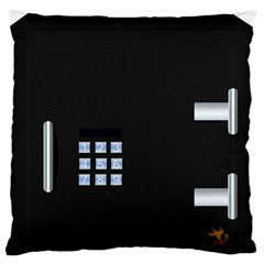 Safe Vault Strong Box Lock Safety Standard Flano Cushion Case (one Side)