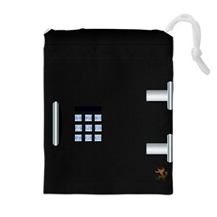 Safe Vault Strong Box Lock Safety Drawstring Pouches (Extra Large)