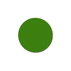 Paper Pattern Green Scrapbooking Golf Ball Marker