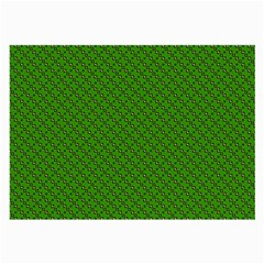 Paper Pattern Green Scrapbooking Large Glasses Cloth (2 Side)
