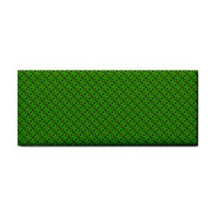 Paper Pattern Green Scrapbooking Cosmetic Storage Cases