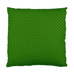 Paper Pattern Green Scrapbooking Standard Cushion Case (two Sides)
