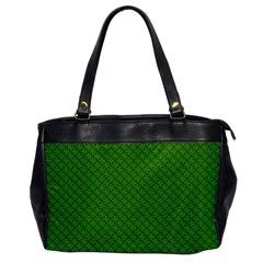 Paper Pattern Green Scrapbooking Office Handbags