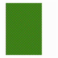 Paper Pattern Green Scrapbooking Small Garden Flag (two Sides)