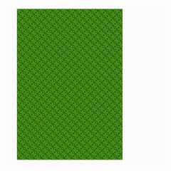 Paper Pattern Green Scrapbooking Large Garden Flag (two Sides)