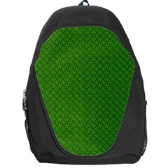 Paper Pattern Green Scrapbooking Backpack Bag