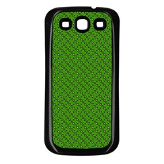 Paper Pattern Green Scrapbooking Samsung Galaxy S3 Back Case (black)