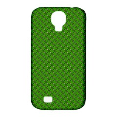 Paper Pattern Green Scrapbooking Samsung Galaxy S4 Classic Hardshell Case (pc+silicone)