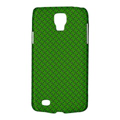 Paper Pattern Green Scrapbooking Galaxy S4 Active
