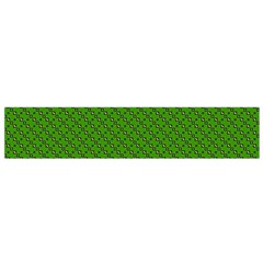 Paper Pattern Green Scrapbooking Flano Scarf (Small)