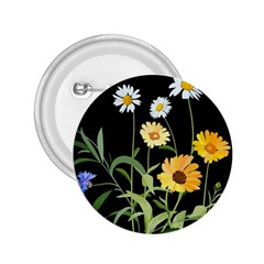 Flowers Of The Field 2.25  Buttons