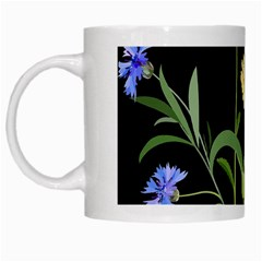 Flowers Of The Field White Mugs