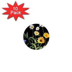 Flowers Of The Field 1  Mini Magnet (10 pack)