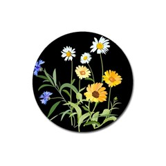 Flowers Of The Field Magnet 3  (Round)