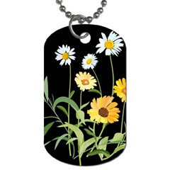 Flowers Of The Field Dog Tag (Two Sides)