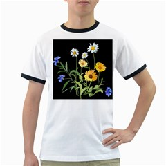 Flowers Of The Field Ringer T Shirts