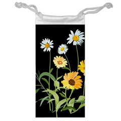 Flowers Of The Field Jewelry Bag