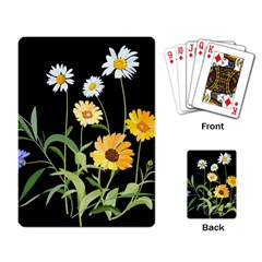Flowers Of The Field Playing Card