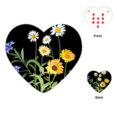 Flowers Of The Field Playing Cards (Heart)