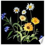 Flowers Of The Field Canvas 16  x 16   16 x16 Canvas - 1