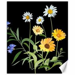 Flowers Of The Field Canvas 20  x 24