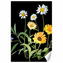 Flowers Of The Field Canvas 20  x 30