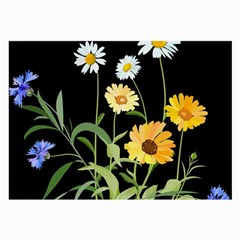 Flowers Of The Field Large Glasses Cloth