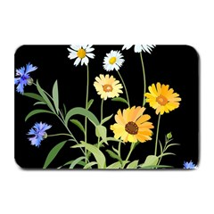 Flowers Of The Field Plate Mats