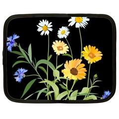 Flowers Of The Field Netbook Case (Large)