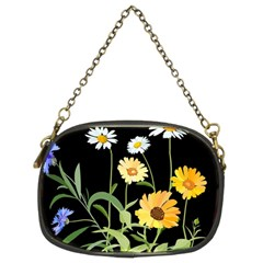 Flowers Of The Field Chain Purses (Two Sides)