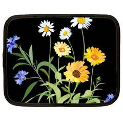 Flowers Of The Field Netbook Case (XL)